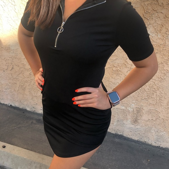 yoins Dresses & Skirts - Black dress fitted